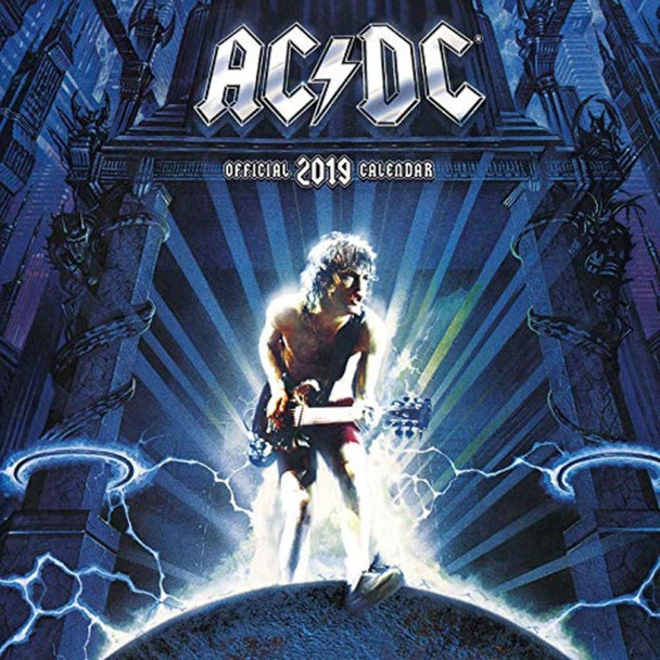 AC/DC Music Official 2019 Calendar 12x12 inch