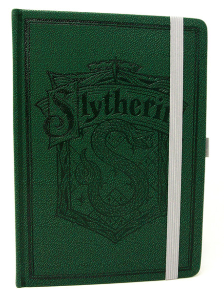 Harry Potter Slytherin House Deluxe Journal Notebook 6x8