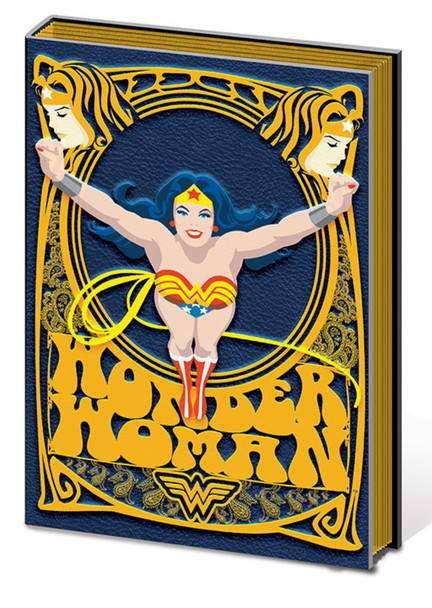 Wonder Woman Lasso of Truth Comic Book Journal Notebook 6x8