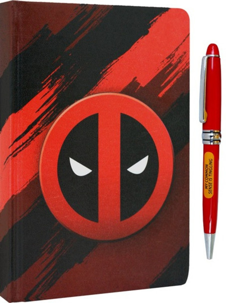 Deadpool Icon Premium Journal With Pen 6x8 Inch