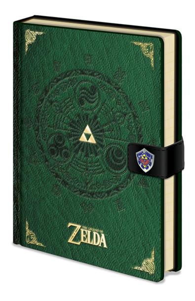 The Legend of Zelda Green Video Gaming Premium Journal Notebook 5.75x8.25