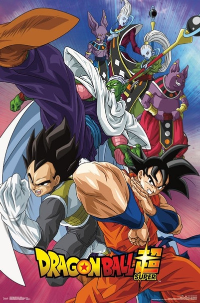 Dragonball Super Group Anime Cool Wall Decor Art Print Poster 22x34