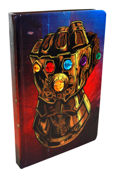 Infinity Gauntlet Stones Thanos Avengers Marvel Comics Books Deluxe Journal Notebook 6x8 inch