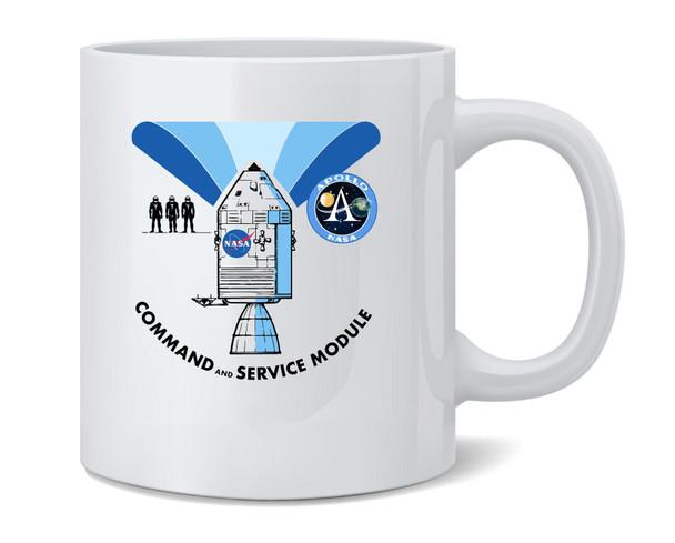 NASA Approved Apollo Command Module Diagram Coffee Mug Tea Cup 12 oz