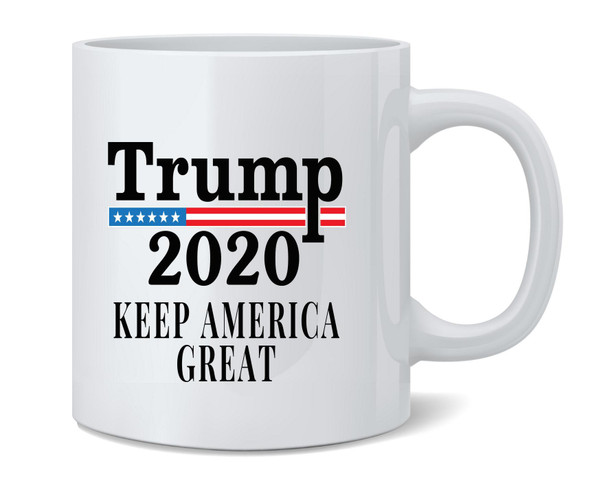 Donald Trump Keep America Great 2020 Campaign Coffee Mug Tea Cup 12 oz