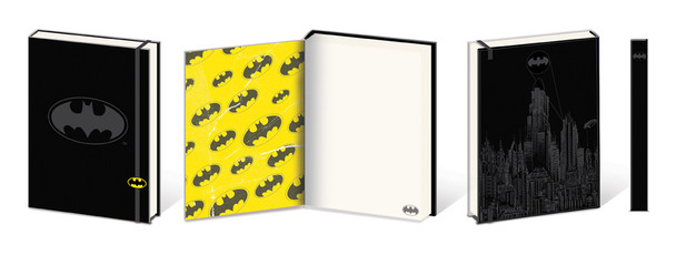 Batman Shield Premium Notebook 180 page Journal Notebook 6x8