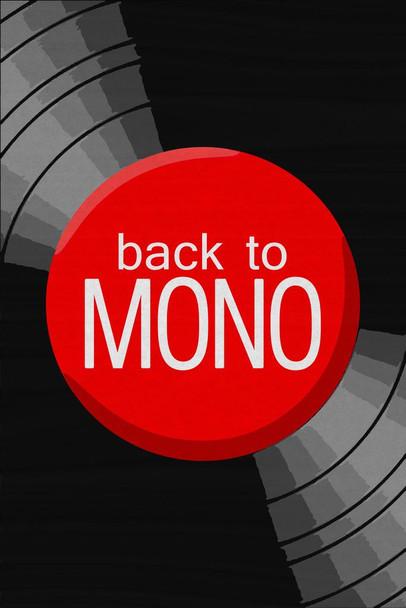 Back To Mono Music Cubicle Locker Mini Art Poster 8x12