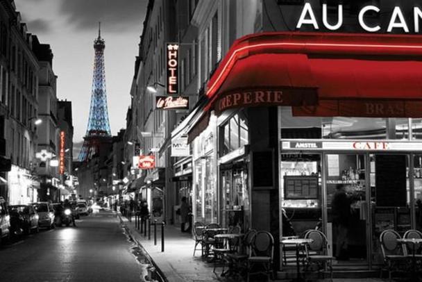Rue Parisienne Paris Photo Photograph Cool Wall Decor Art Print Poster 36x24