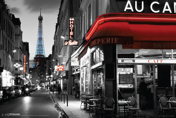 Rue Parisienne Cool Huge Large Giant Poster Art 54x36
