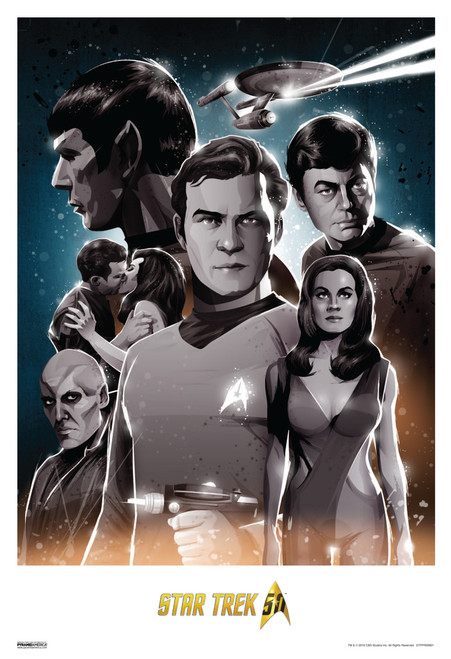 Star Trek First Contact 50th Anniversary Movie Poster 13x19 inch