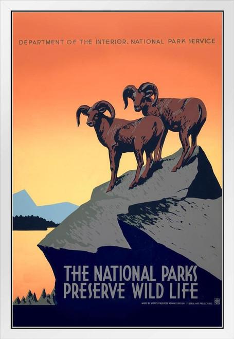 WPA Recreation Project Dog Cat Poster Fine Art Print Vintage 1930s PET SHOW