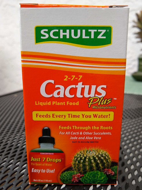 Liquid Plant Food for Cactus and Succulent Plants