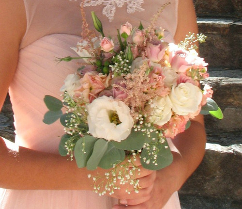 Wedding Bridesmaid French Garden Bouquet