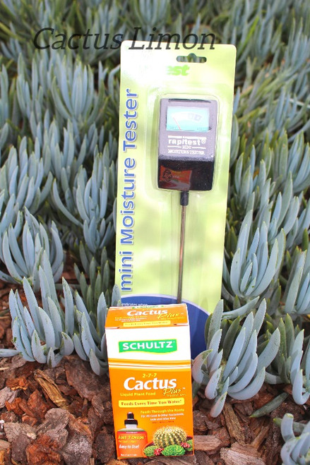 Moisture Meter and Cactus Food Combo
