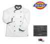 Dickies Executive Chef Coat - Black Texture