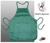 Chef's Popular 2-Pocket Bib Apron - Emerald
