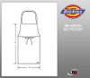 Dickies Chef Bib No Pocket Apron
