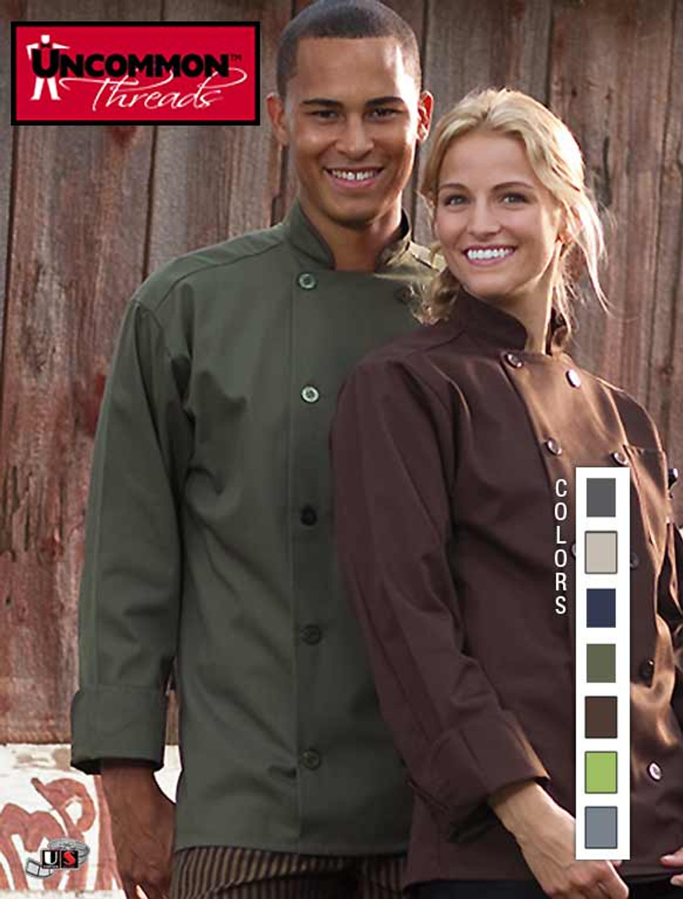 Uncommon Threads Womens Orleans Chef Coat Uncommon Threads Womens Uniforms 0488