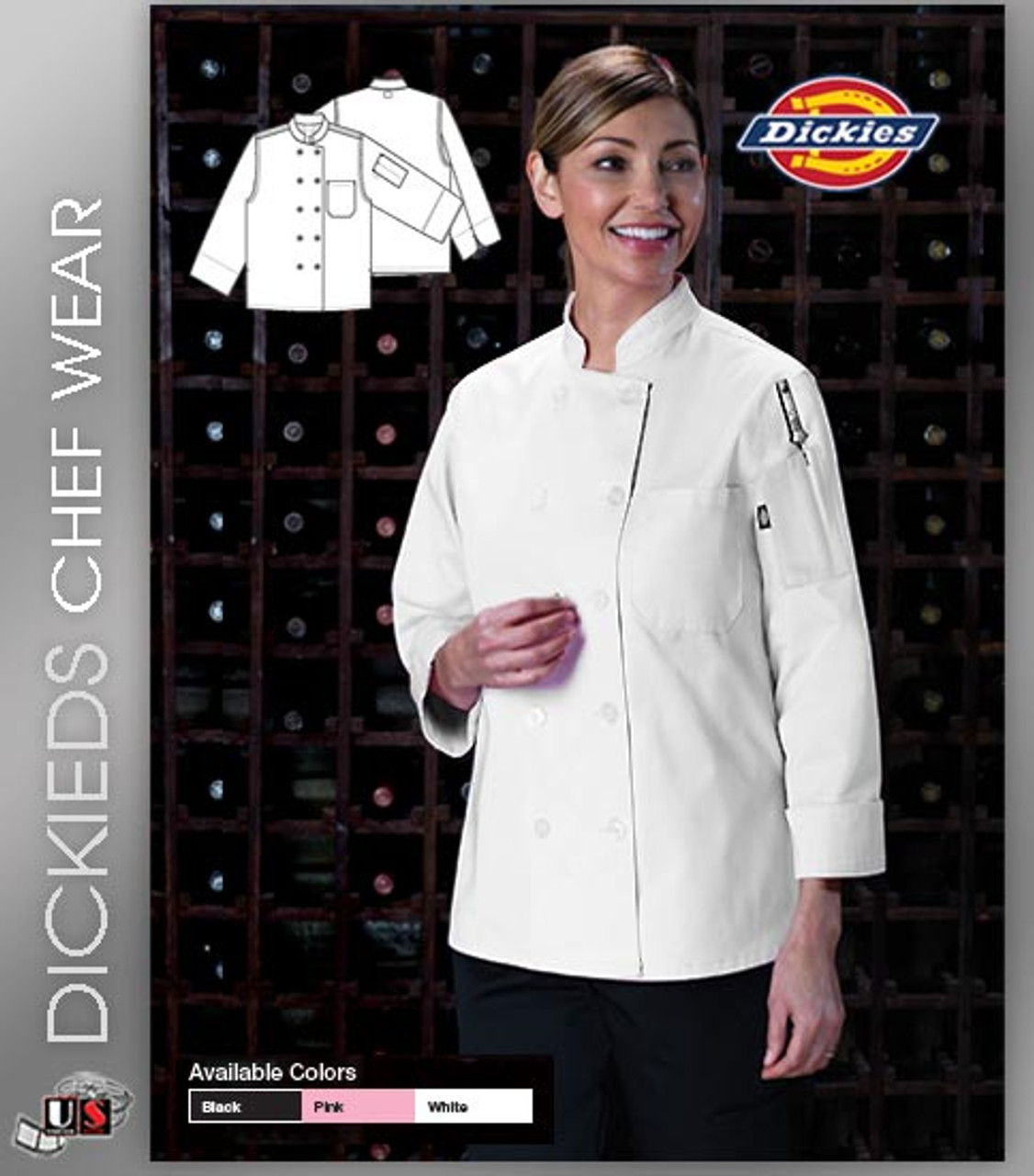 Dickies Chef Womens Executive Coat