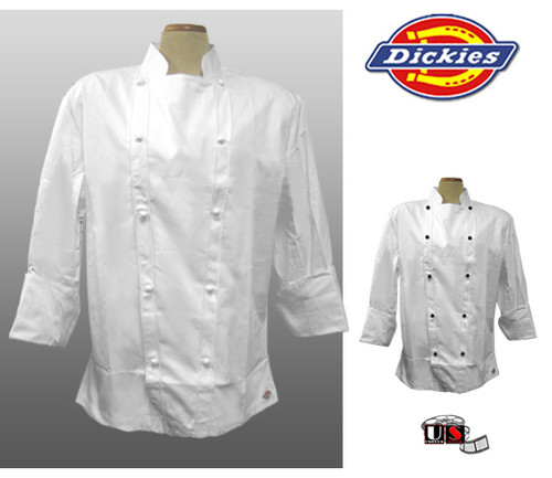 Dickie's Executive White Chef Coat