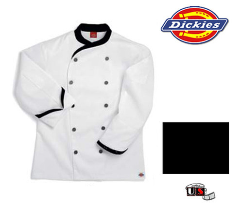 Dickies Executive Chef Coat - Black