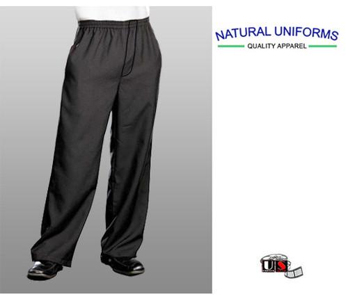Natural Uniforms Chef Revival Black Slim Fit Pants