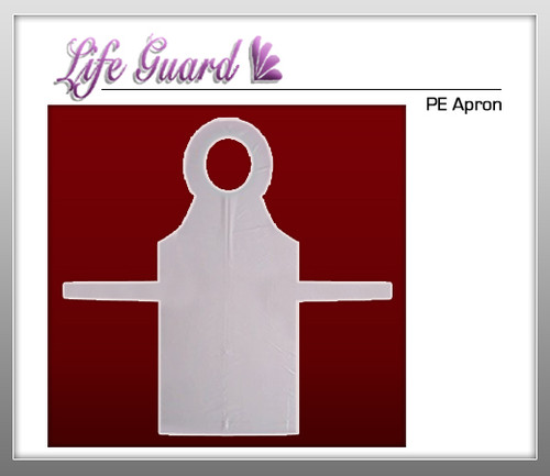 LIFE GUARD PE Apron - 100 Pcs / Bx