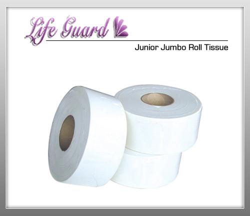 LIFE GUARD Junior Jumbo Roll Tissue - 12 Rolls Per Case
