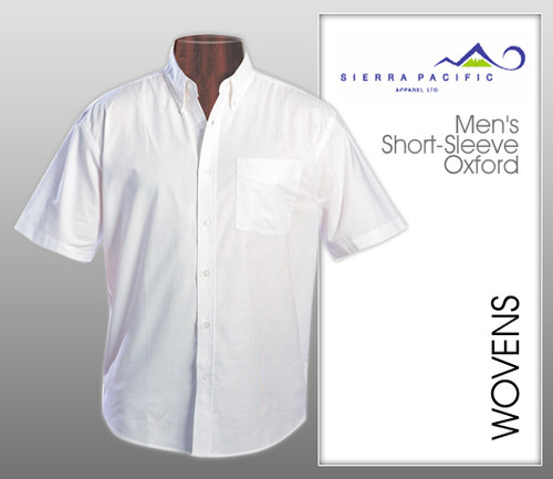 Van Heusen Mens Short Sleeve Oxford