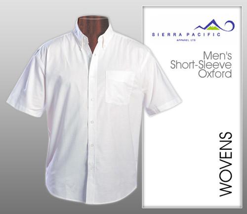 Van Heusen Mens Short Sleeve Oxford