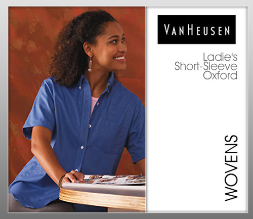 Van Heusen Ladies' Short Sleeve Oxford