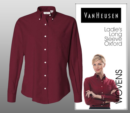 Van Heusen Ladie's Long Sleeve Oxford
