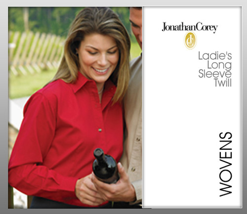 Jonathan Corey Ladies' Long Sleeve Teflon