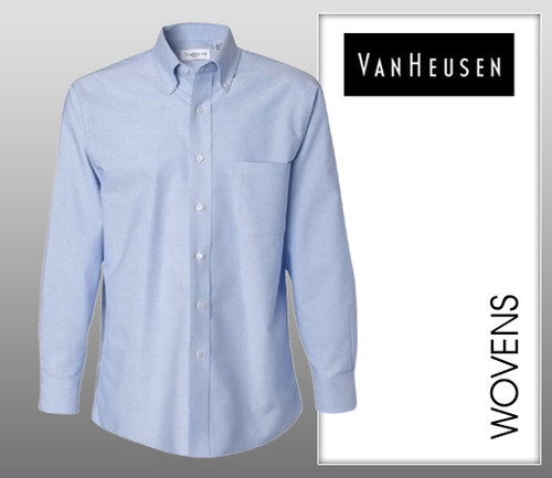 Van Heusen Mens Long Sleeve Oxford