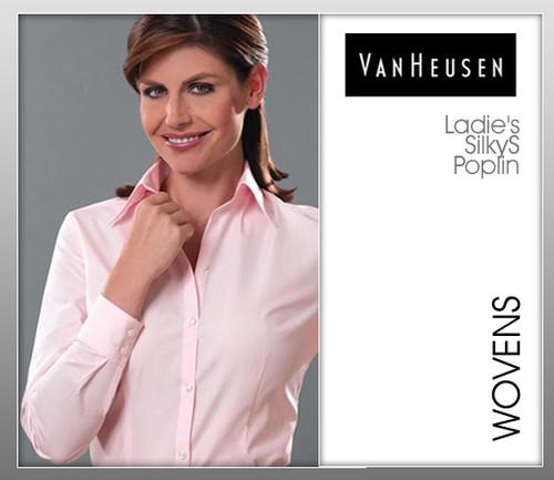 Van Heusen Ladies Silky Poplin