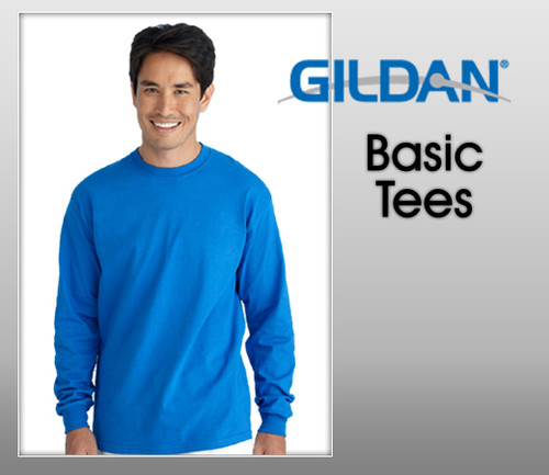 Gildan Adult Heavy Cotton Sleeves Tee