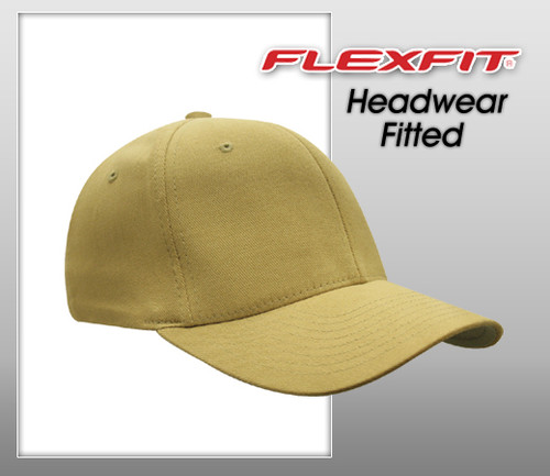 Flexfit Fitted Brushed Twill Cap