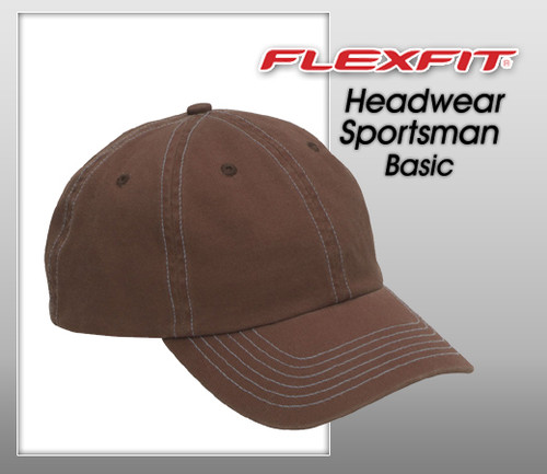 Valucap Headwear Sportsman Basic Bio-Washed Cap