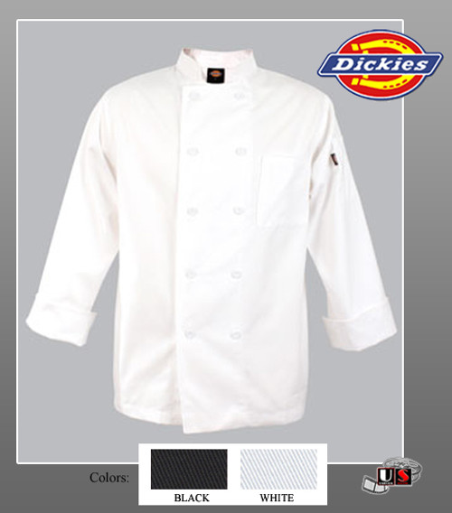 Dickies Chef Stephano Classic Chef Coat