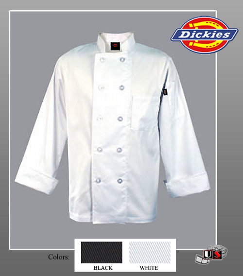 Dickies Chef Giovanni Classic Chef Coat