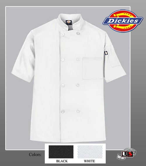 Dickies Chef Donatello Short Sleeve Coat