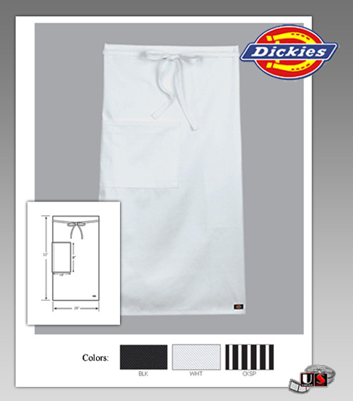 Dickies Chef Bistro 1 Patch Pocket Apron