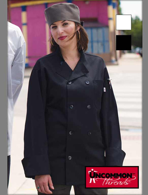 Uncommon Threads Chef Coat 10 Buttons