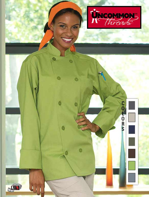 Uncommon Threads Orleans Chef Coat