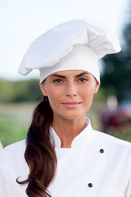 Uncommon Threads Chef Hat Poplin