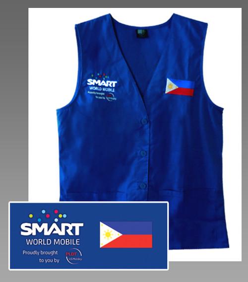 SMART WORLD MOBILE Embroidered Vest