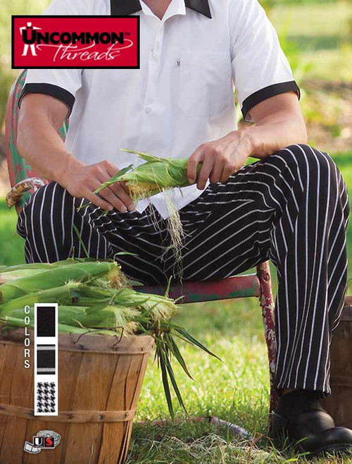 Uncommon Threads CLASSIC BAGGY CHEF PANT