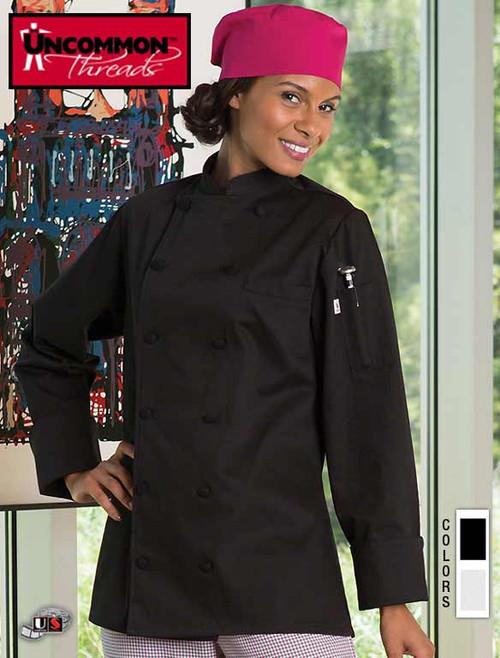 Uncommon Threads NOVONA Chef Coat- For Women