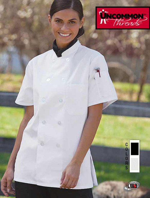 Uncommon Threads TAHOE Chef Coat - For Women