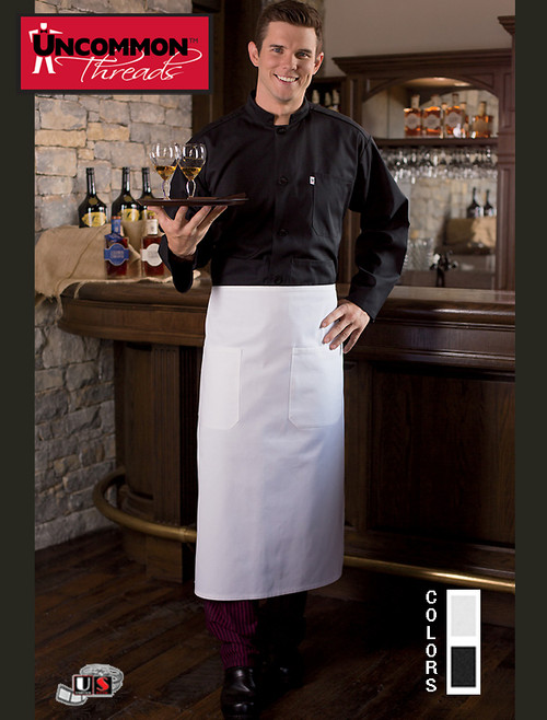 Uncommon Threads TWO-POCKET BISTRO Aprons